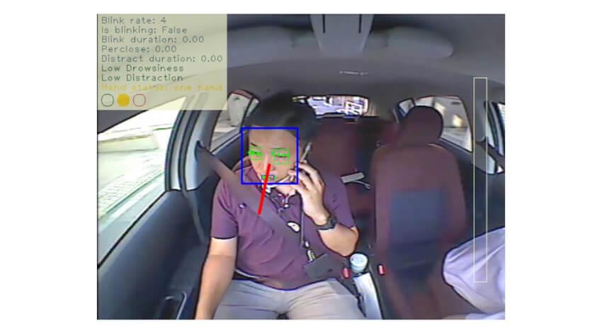 デンソーテンの安全運転管理テレマティクスサービスに新機能搭載、AIが「ながら運転」等を自動検知