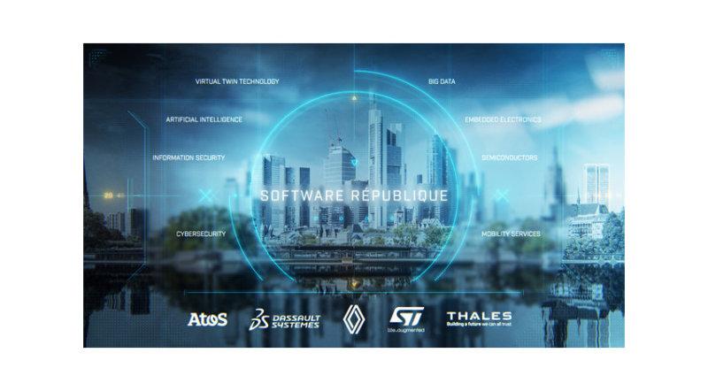 アトス・ダッソー・システムズ・ルノーグループなど5社、「ソフトウェア・リパブリック」を共同設立