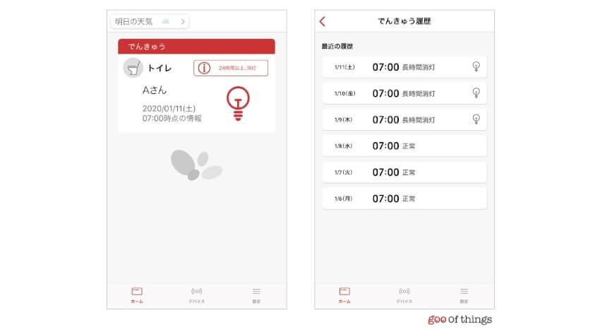 NTTレゾナントのIoTサービス「goo of things」、IoT電球に対応