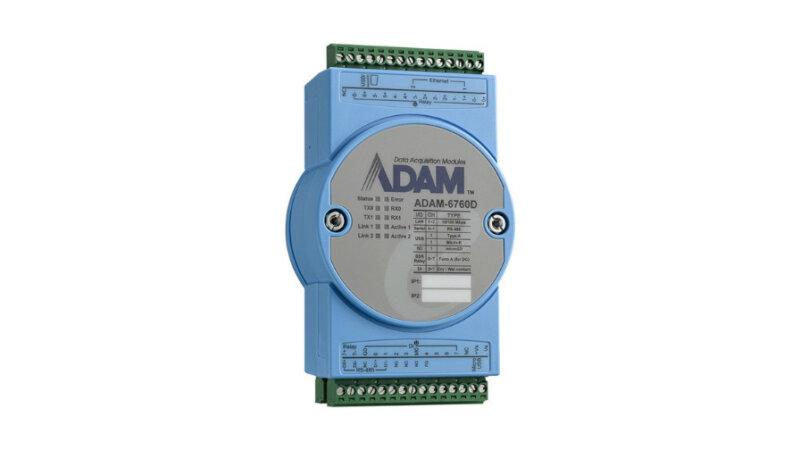 アドバンテック、リレー出力付きインテリジェントI/Oゲートウェイ「ADAM-6760」を発売