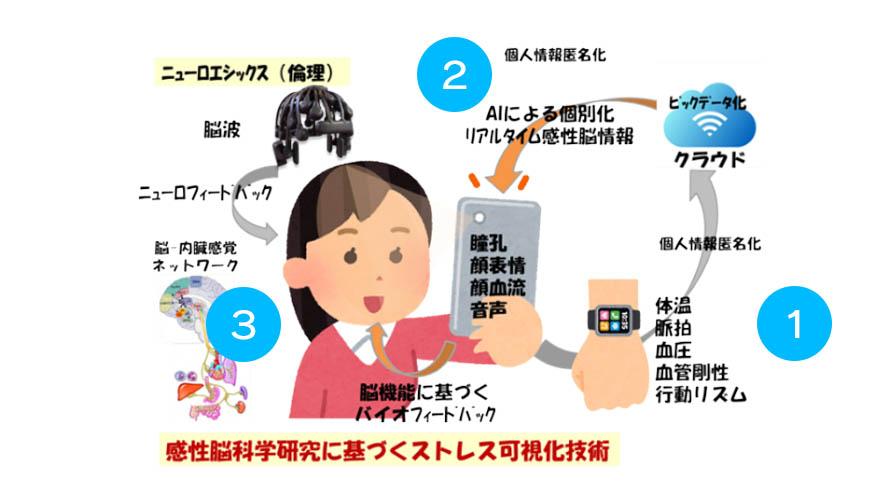 広島大・Meiji Seika ファルマ・マクニカ、感性脳科学を活用したうつ病予防のDXへ向け産学連携での共同研究を発表