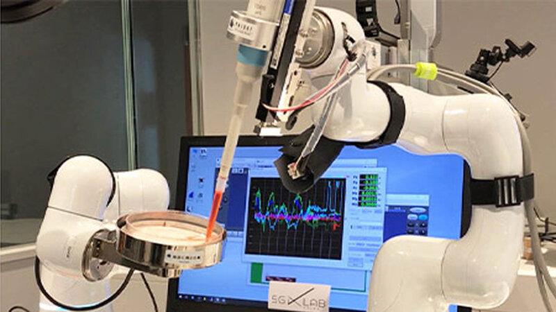 大成建設とソフトバンク、5Gとロボットアームを活用した細胞培養作業の遠隔操作に成功