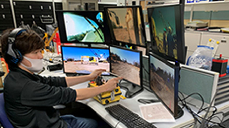 ソフトバンクとカナモト、 建設機械の遠隔操縦を通信ネットワークの優先制御機能と閉域網にて実証実験を実施