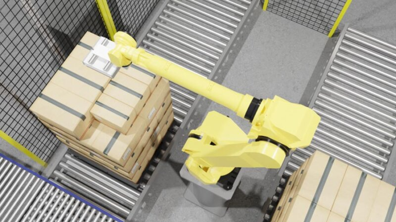 PFN、物流の課題解決へ向けデパレタイジングロボット用のコントローラーの提供を発表