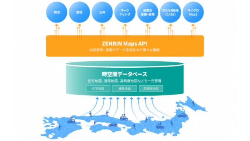 ゼンリンの時空間データベースを活用したAPI「ZENRIN Maps API」、建物属性情報により分析業務を支援する新機能を追加
