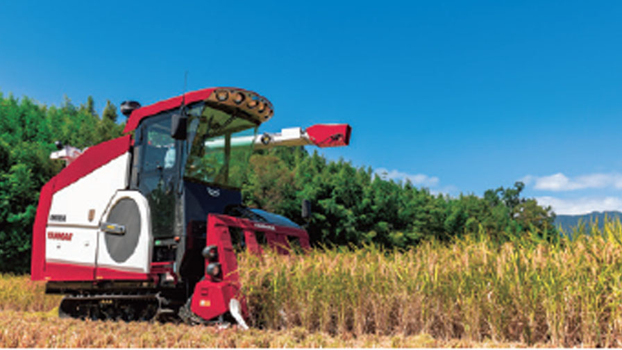 ヤンマーアグリ、スマート農業へ向け収穫量のバラつきを見える化する「収穫量マッピング」機能のオプション提供を開始