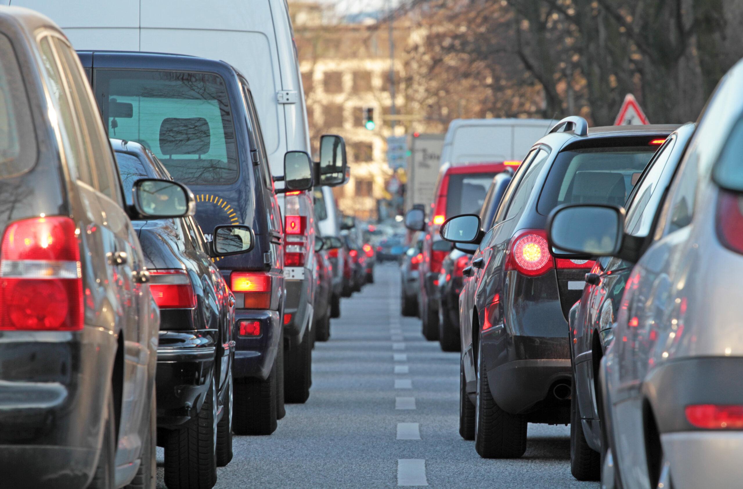 スマートパーキングは、交通渋滞の緩和に寄与する