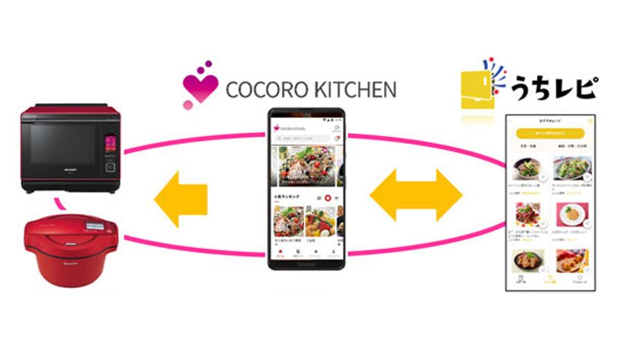 シャープとサッポロホールディングス、レシピサービス「うちレピ」と「COCORO KITCHEN」を連携させた実証実験を開始