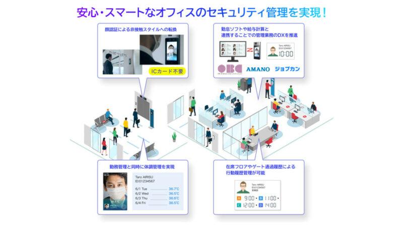 アイリスオーヤマ、非接触でオフィスの入退室や勤怠管理を行う「顔認証AIセキュリティ管理ソリューション」を提供開始