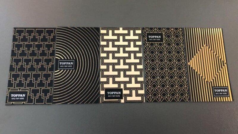 凸版印刷、印刷加飾技術を用いデザイン性と通信性能を兼ね備えた高意匠NFCラベルを開発