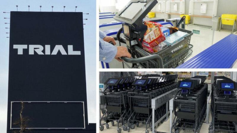 トライアル、レジの待ち時間短縮と店舗オペレーションの省力化に貢献する「スマートショッピングカート」を宇都宮店に導入開始