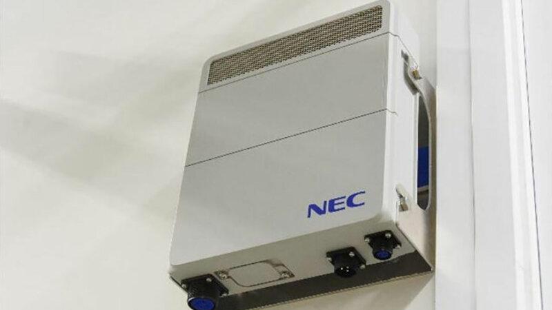 NECの5G基地局装置NECの5G基地局装置