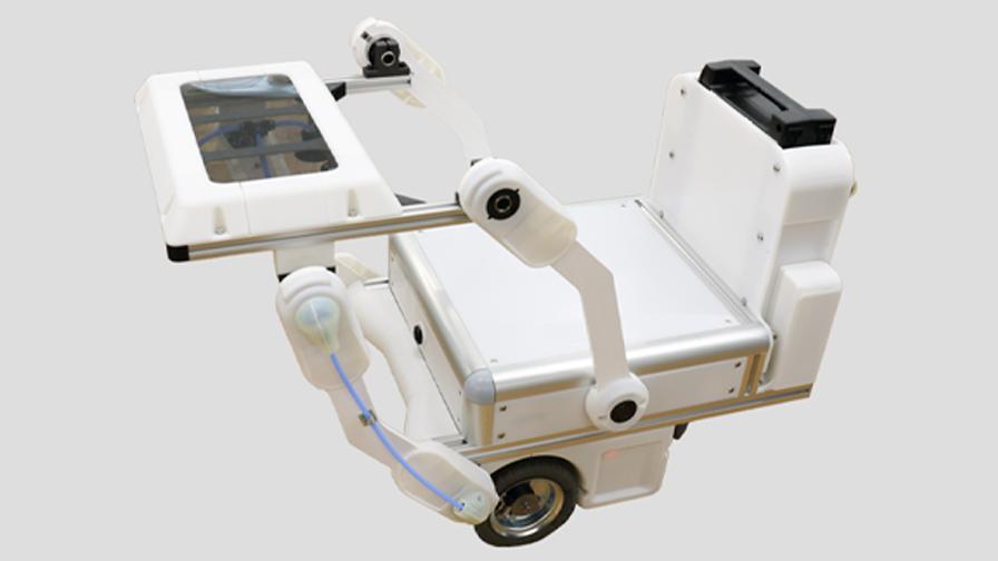 スマートロボティクス・ACCES、物流ドローンと連携し地上配送するUGV試作機の共同開発を発表