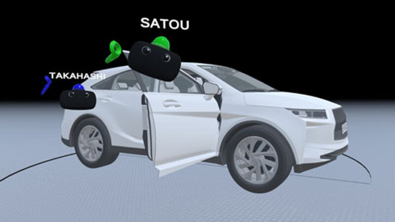 ISID、VRを活用して操作体験まで共有可能な多拠点間バーチャルコラボレーションシステム 「CoVR」の提供を開始