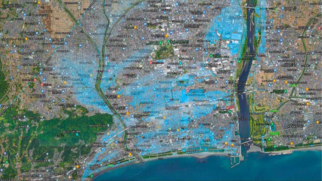 Spectee、AIを活用して河川氾濫による浸水被害地域を可視化するリアルタイム浸水推定図を公開