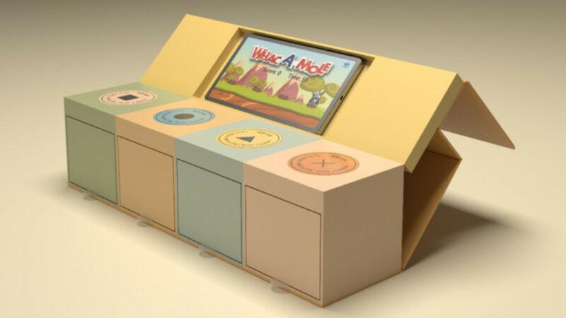 凸版印刷、NFCでスマートフォンと接続してゲームや音楽演奏などのデジタルコンテンツと連動するパッケージを開発