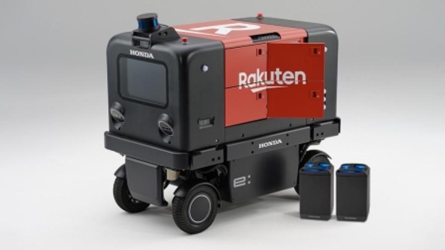 Hondaと楽天、自動配送ロボットの走行実証実験を筑波大学構内にて共同で開始