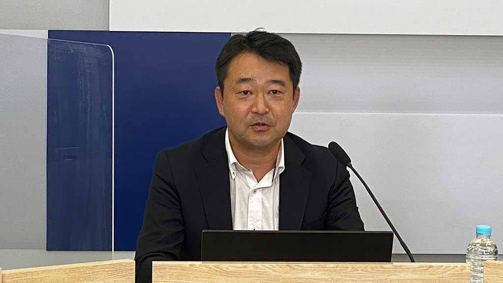 NEC スマートインダストリー本部 本部長の豊嶋 慎一氏