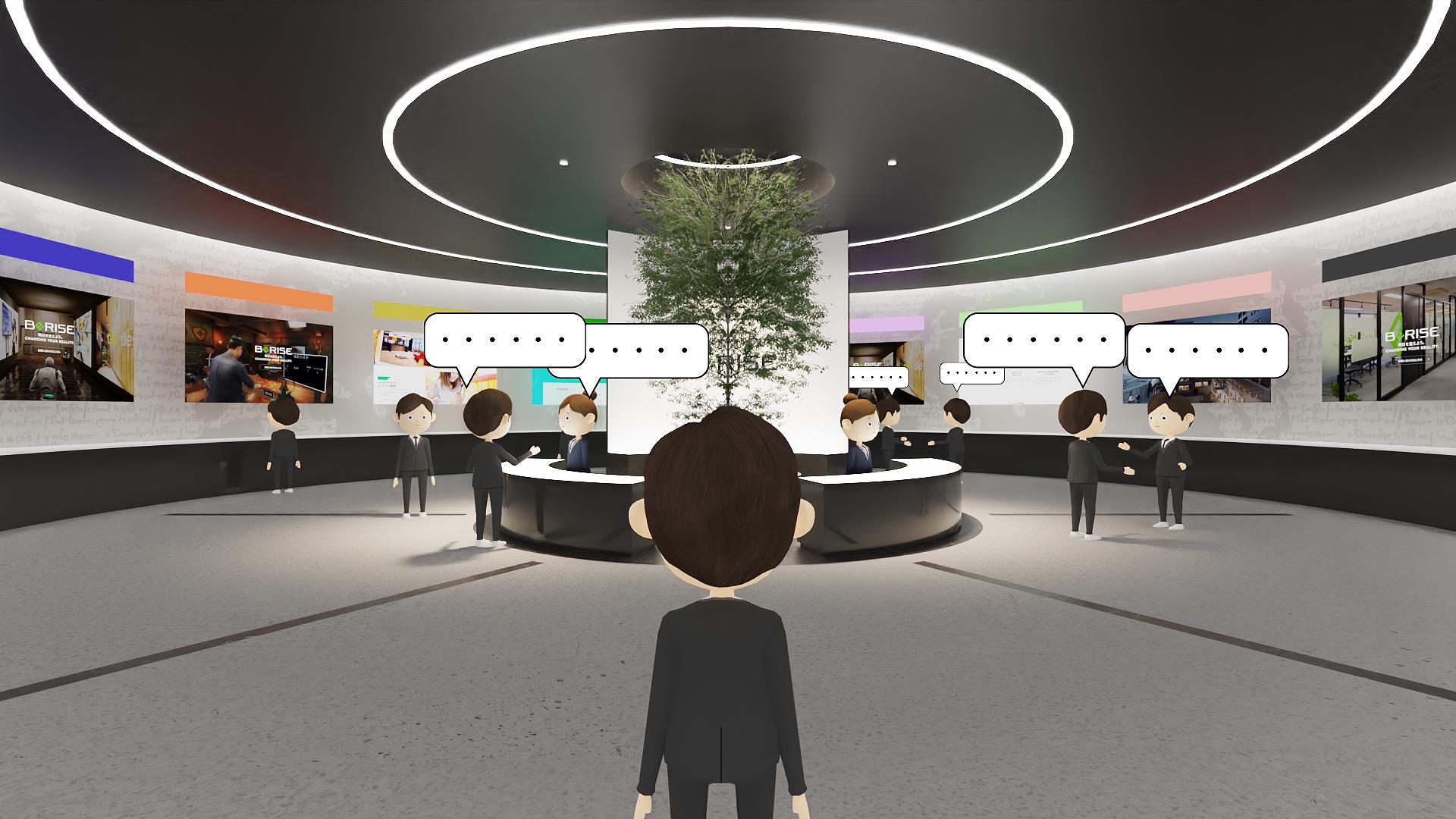 エネコムとビーライズ、VR空間サービス提供