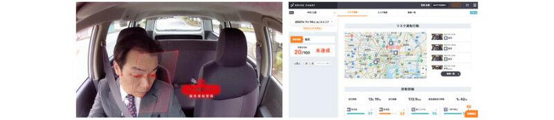 MoT、次世代AIドラレコサービス「DRIVE CHART」に脇見運転時に警報音で通知する脇見警報機能を追加