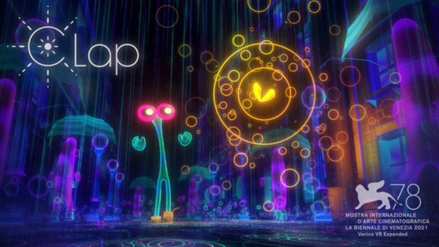 WOWOWとCinemaLeap、VRアニメーション「Clap」が第78回ヴェネチア国際映画祭VR部門「Venice VR Expanded」にノミネート