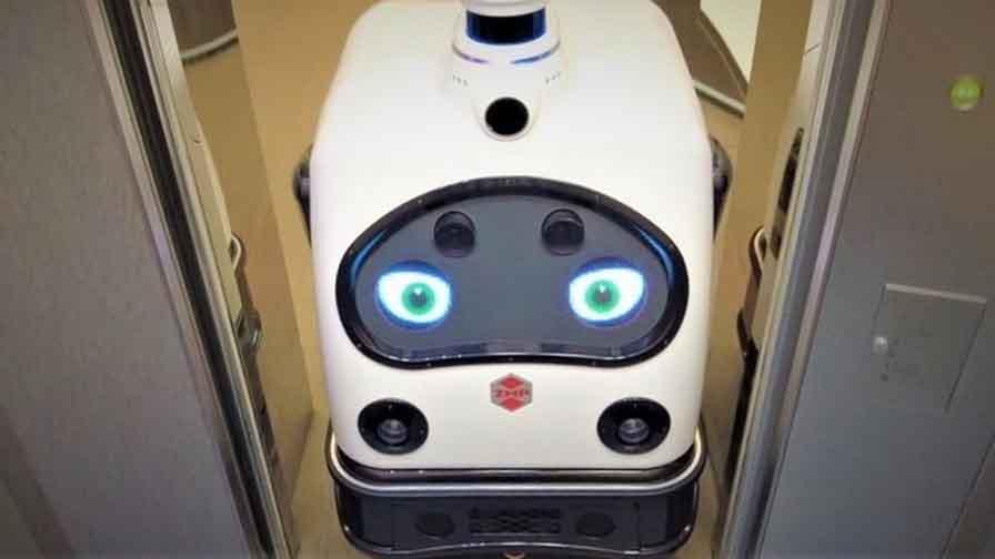 日本オーチスとZMP、クラウドを経由したエレベーターとロボットとの連携実験を実施