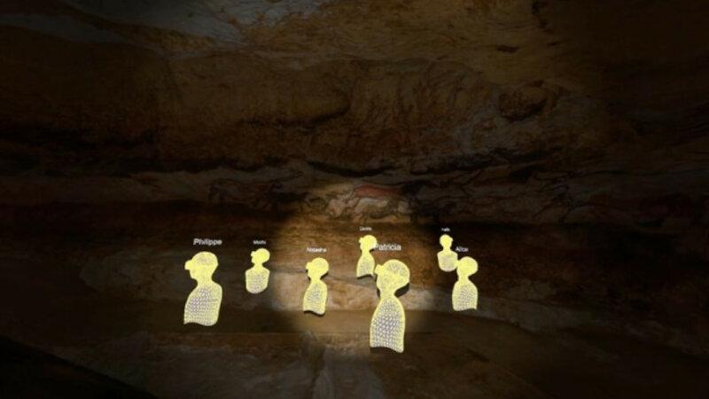 ダッソー・システムズなど3者、ラスコー洞窟を原寸大のスケール感で体験できるバーチャルツインを公開
