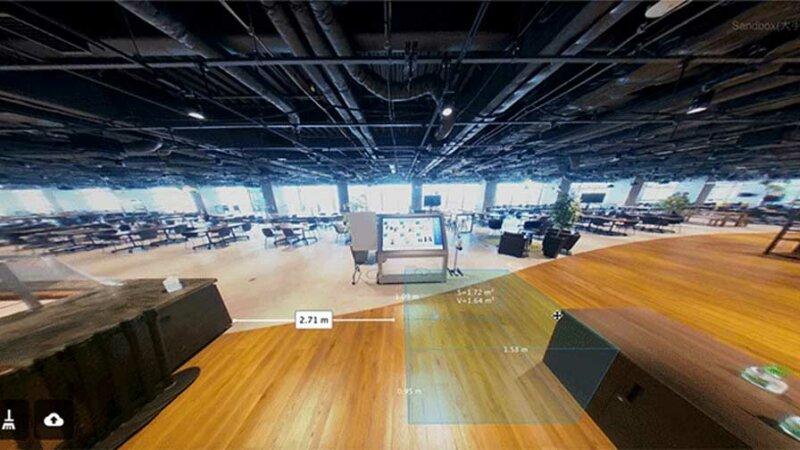 NTT ビズリンク、市販の360°カメラとスマホで建物を3D-View化しバーチャル測量などが行える「Beamo」の提供を開始