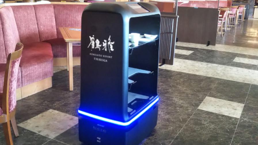 NECネッツエスアイ、自律走行型配送ロボット「YUNJI DELI」をホテルに納入