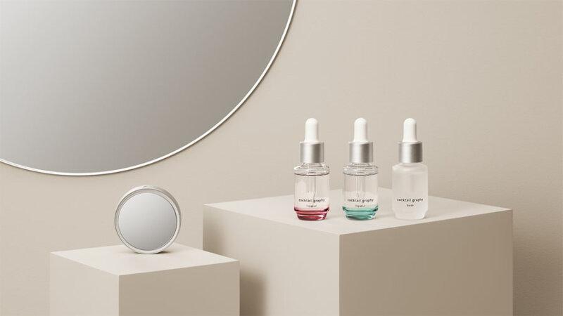 Ridgelinezとオルビス、肌測定を行うIoTデバイス「skin mirror」によるパーソナライズスキンケアサービス 「cocktail graphy 」を発表