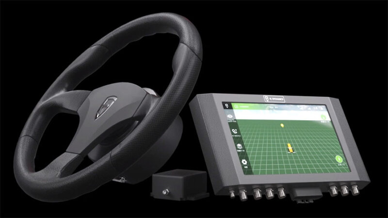 セキド、後付けで農業機械を自動化する「FJD農機自動操舵システム」の販売開始