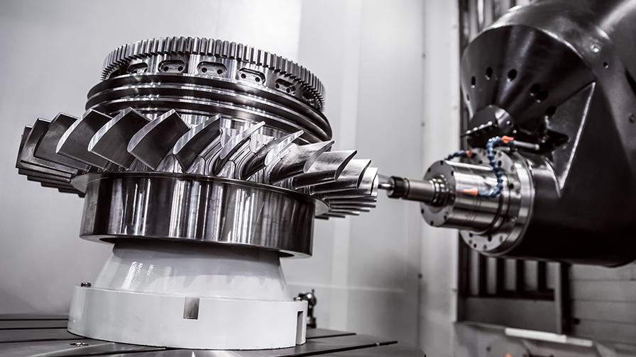 工作機械にIPCが使われている。