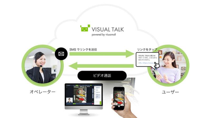 ソフトバンク、スマホカメラを活用して遠隔地からサポートする 「visuamall VISUAL TALK」を提供開始