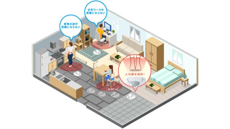 パナソニック、ロボット掃除機「RULO」に在宅掃除モードと音声プッシュ通知機能を追加