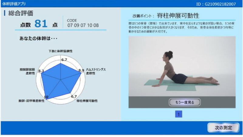 富士通、「AI体操採点システム」のAI技術をウェルビーイング領域へ適用する実証を開始