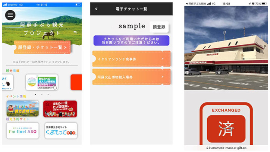 NECと熊本県、旅行商品を事前購入して顔認証で利用できる実証実験を開始