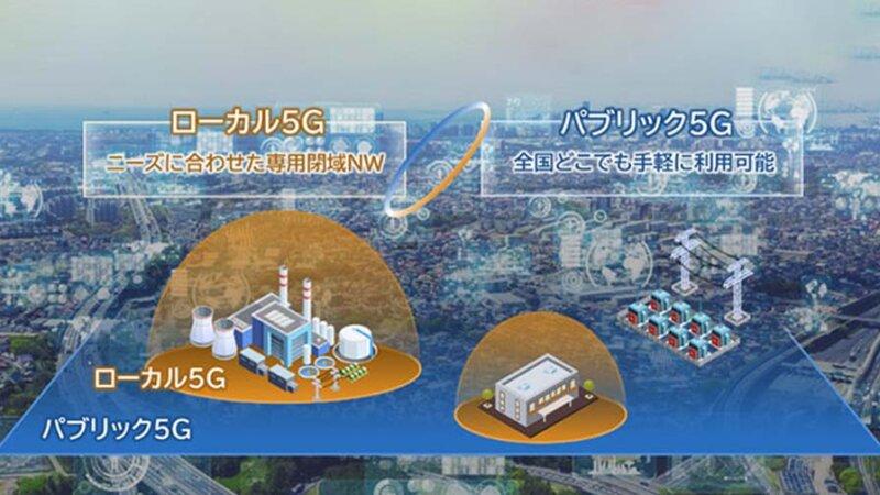 NEC、ローカル5Gとパブリック5Gを組み合わせた「ハイブリッド5G」を構築