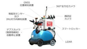 テムザック・NTTドコモなど、ロボットモビリティ「RODEM」を用いた自動運転・遠隔操作による配送サービスの実証実験を開始